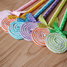 24pcs/lot Lollipop ball pen souvenirs birthday party baby shower gift happy birthday decoration kids