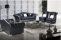 Living Room Sofa set chesterfield sofa real genuine cow leather sectional sofas neoclassical muebles de sala moveis para casa