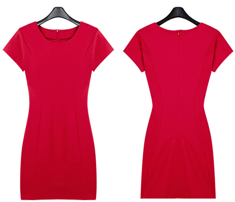 chili Elasticity design sexy tight casual red dress 2015 spain women brief  office High quality Elegant dresses clothes online cc-in Dresses from  Women s ... 34d7b2da8