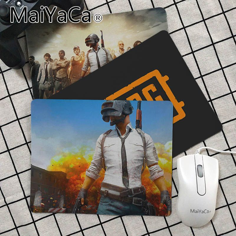 Maiya  PUBG High Speed New Mousepad Rubber PC Computer Gaming Mouse Pad