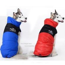 Fashion Winter Jacket Coat Ski Big Dog Clothes Clothing For Large Golden Retriever Collie Tibetan Mastiff mascotas oupa cachorro