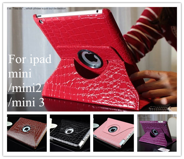 Hot sell Magnetic Smart Cover Leather Case for ipad mini ipad mini 2 ipad mini 3