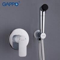 GAPPO white Bidets portable bidet washer tap mixer bathroom muslim bidet tap wall mount Spray Shattaf