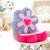 Girassol travesseiro projetos seis pétalas flor almofada brinquedos de pelúcia para inclinar-se de pétalas de natal presente do dia dos namorados YZT0115