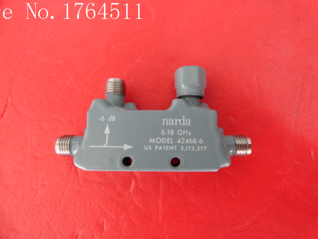 [BELLA] Narda 4246B-6 6-18GHz 6dB SMA Supply Coupler