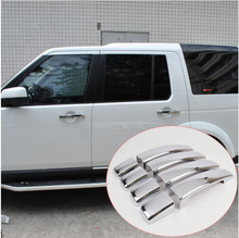 ABS Chrome Door Handle Cover Trim For 2006-2010 Land Rover Freelander 2 Discovery 3 Range Rover Sport 2006-2009 Car Accessories