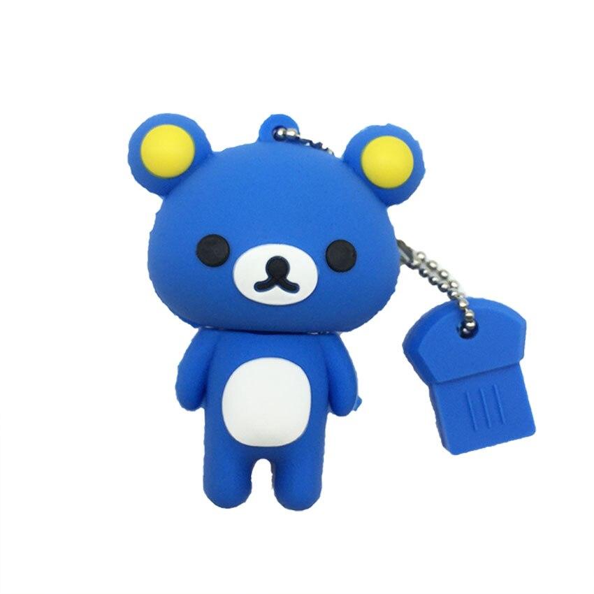 2019 New Usb Flash Drive Cute Cartoon Bear Pen Drive 4gb 8gb 16gb 32gb 64gb 128gb Pendrive High Quality Usb Stick Free Shipping (5)