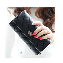 Long Wallet Women Purses Fashion Coin Purse Card Holder Wallets Female High Quality Clutch Money Bag PU Leather Wallet new fashion women wallet crocodile pattern high quality purse for female coin purses money card holders ladies buckle purses y3
