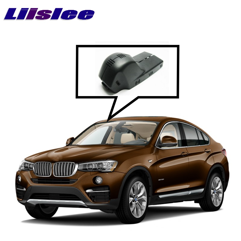 LiisLee Car Black Box WiFi DVR Dash Camera Driving Video Recorder For BMW X5 E70 X4 F26 2006 2017 liislee for volvo s60 2012 2013 car black box wifi dvr dash camera driving video recorder novatek 96655 fhd 1080p