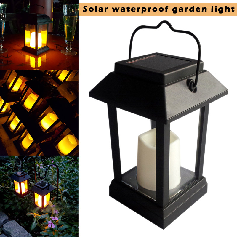 220V solar charging waterproof 0.2W yellow LED garden candle light outdoor lighting hanging lamp kk220V solar charging waterproof 0.2W yellow LED garden candle light outdoor lighting hanging lamp kk