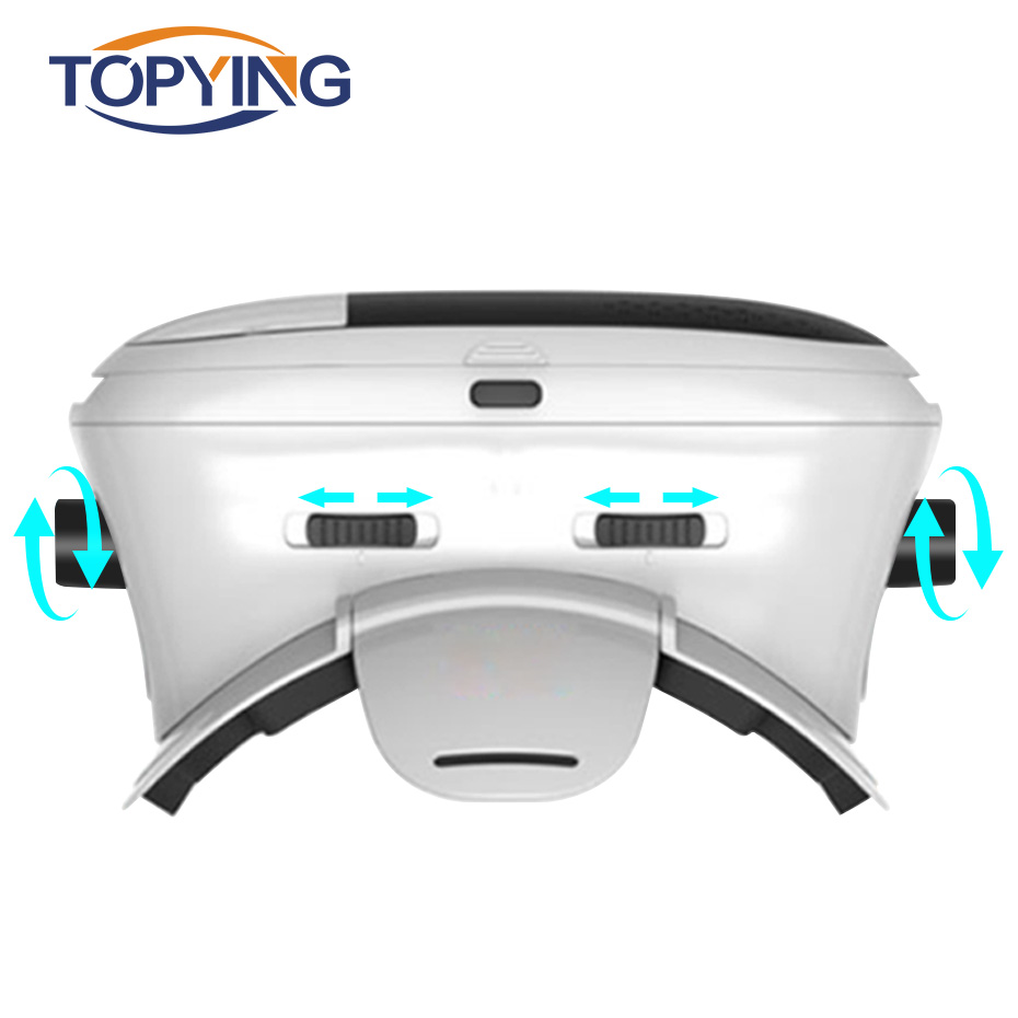 Headset VR BOX 3D VR Glasses Cardboard Virtual Reality Goggles Googles Cardboard For Iphone 6 S 5 Android Phone Note Smartphone