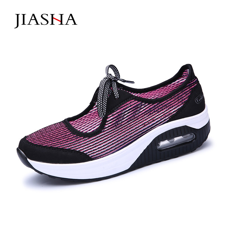 2019 New Sale Summer Women Casual Shoes Soft light-weight  Fashion Breathable women Platform Swinging shoes2019 New Sale Summer Women Casual Shoes Soft light-weight  Fashion Breathable women Platform Swinging shoes