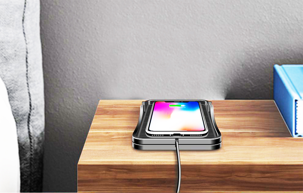 qi wireless charger charging pad car wireless mount