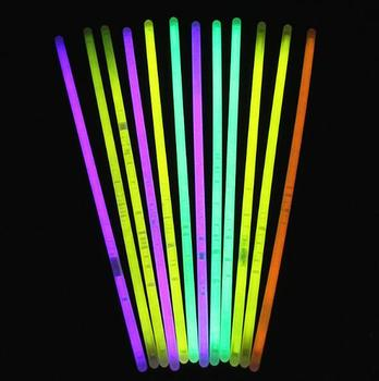 HOT SALE 1000pcs Glowstick  Party Fluorescent Bracelets Necklace Glow in the Dark Neon Sticks Christmas Party Supplies YH1158