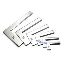 Escuadra de precisión para cuchillos herramienta de medición de ingeniería de Regla De Ángulo Recto de 90 grados, 63x40, 80x50, 100x63, 125x80, 160x100, 200x125mm
