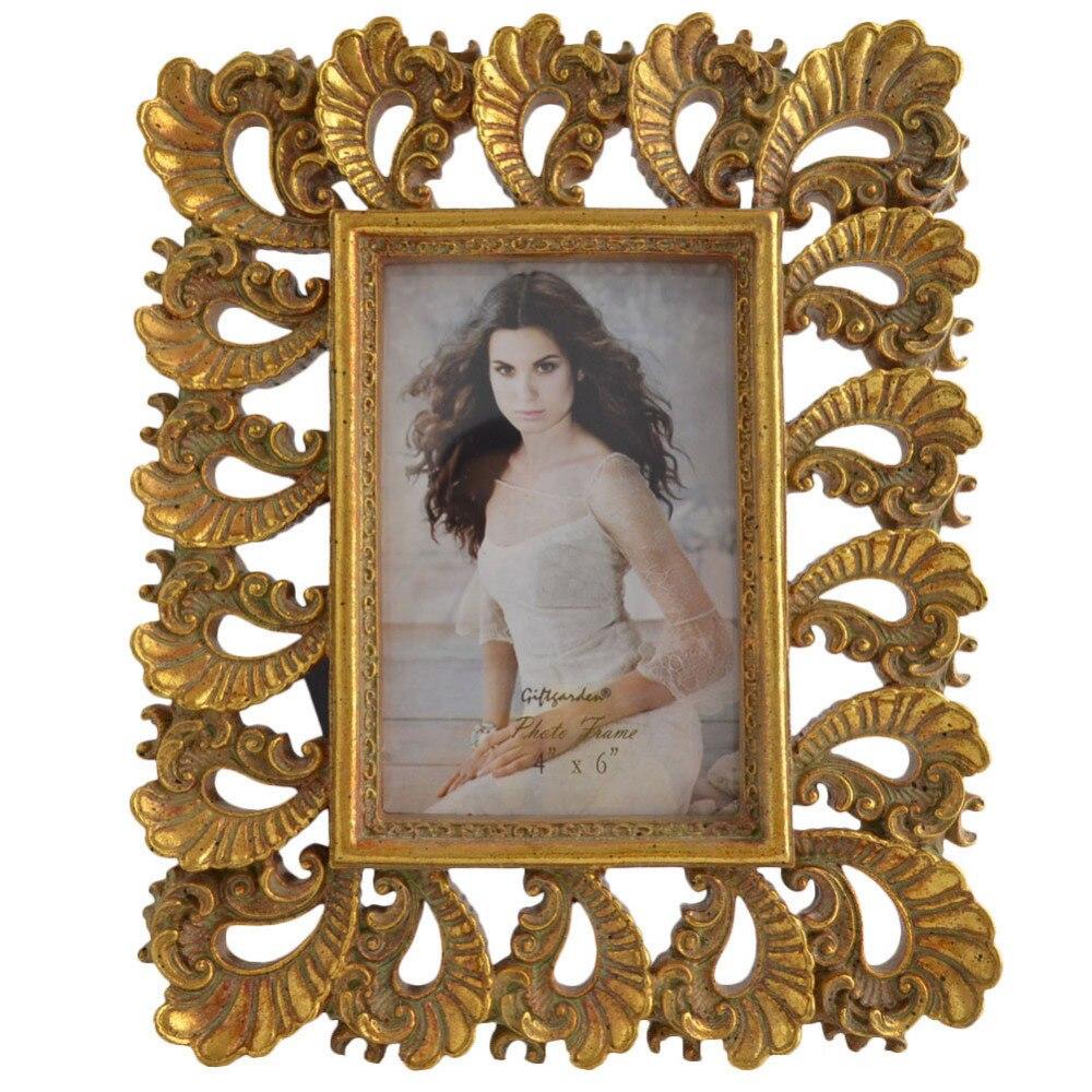 giftgarden gold vintage picture frame      frame