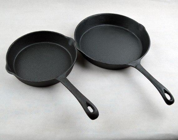 Poêle à frire en fonte fond plat poêle à frire 20 cm panela