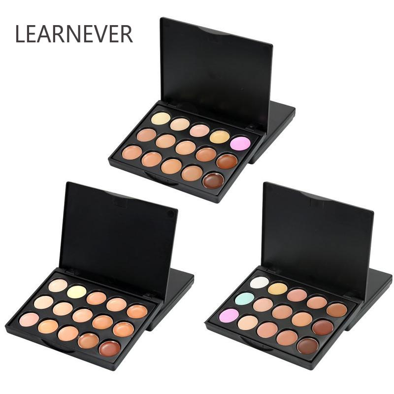Professional Face Concealer Makeup Mini 15 Colors Face Concealer Camouflage Palette Cream Contour Makeup image