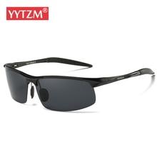 YYTZM Sunglass Brand Design Aluminum Magnesium Sunglasses Men HD Polarized UV400 Color Film Glasses Male oculos de sol masculino