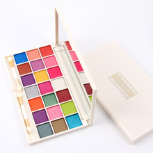 MISS ROSE 21 Color Pearl Matte Eyeshadow Smoked Professional Makeup Multicolor Eye Shadow Tray
