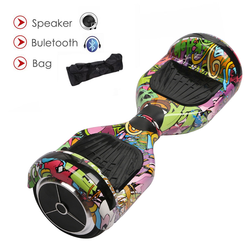 6.5 Inch Self Balancing Hoverboard with Bluetooth and Speaker 4