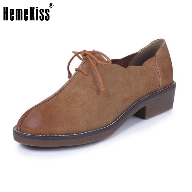 Size 34-43 Women's Flat Shoes Women Cross Strap Vintage Flats Ladies Simple Round Toe Square Heeled Casual British Shoes concise lofers for women spring women flats elastic band round toe flats size 34 43 flat sole platform shoes 2016 women shoes