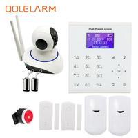 QOLELARM אינטליגנטי אוטומטי חיוג GSM wifi ענן ip מעורר נגד גניבת מערכת אנדרואיד IOS APP תמיכת שלט רחוק ip wifi מצלמה