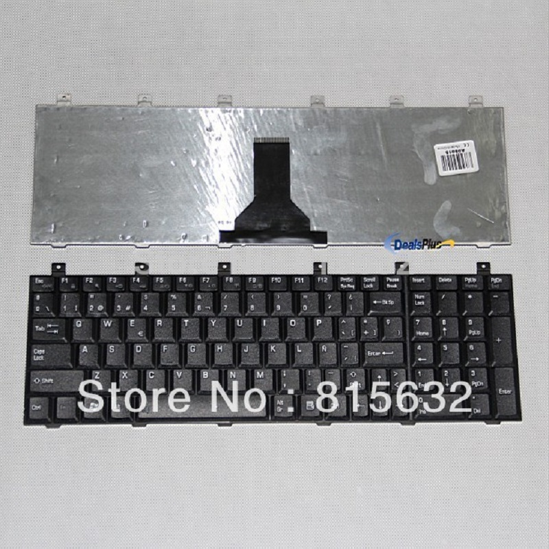 Laptop Keyboard For Toshiba P100 P105 L100 M60 M65 Keyboard Teclado Spanish Computer & Office Mouse & Keyboards