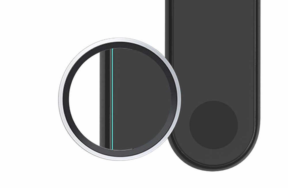 2 шт. 0,1 мм HD Защитная водонепроницаемая пленка для Xiaomi Miband 2 ремешок на руку Браслет замена мужчин t мужчин женщин Бесплатная доставка