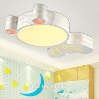 Lovely Cartoon Modern LED 32W lampa dla dzieci z pilotem do pokoju dziecięcego pokój dziecięcy sypialnia LED lampy sufitowe 1846 w Oświetlenie sufitowe od Lampy i oświetlenie na