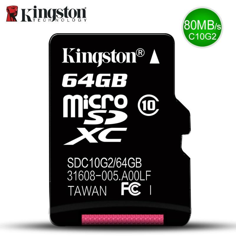 Kingston Micro SD Carte Mémoire 32 GB 16 GB 64 GB Class10 Mini SD carte Class4 8 GB 16 GB Avec TF Lecteur de Carte Pour Android SmartPhone