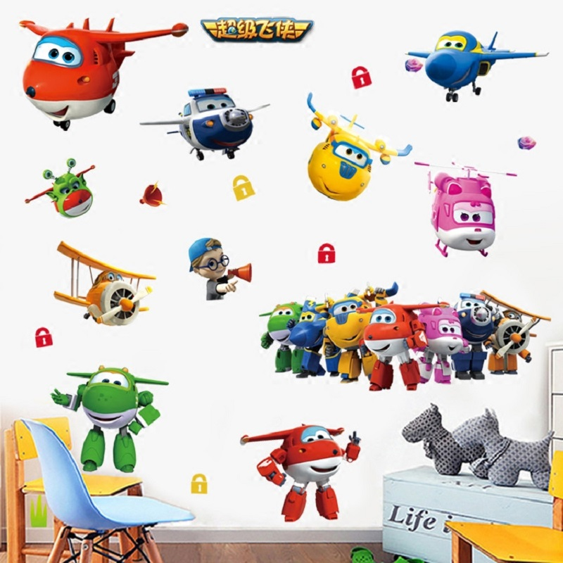 Buy 3d cartoon super wings jett airplane for International home decor stores