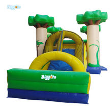 Suitable Size Portable Inflatable Kids Party Bouncy Castle With Slide For Sale