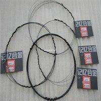NiTi Nitinol Nickel Titanium Super Elastic Wire SMA Nitinol Shape Memory Alloy Wire Free Shipping