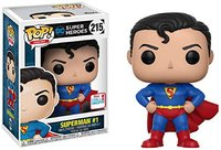 2017 NYCC Exclusive Funko Pop Official DC Super Heroes Superman First Appearance 1 Vinyl Action Figure