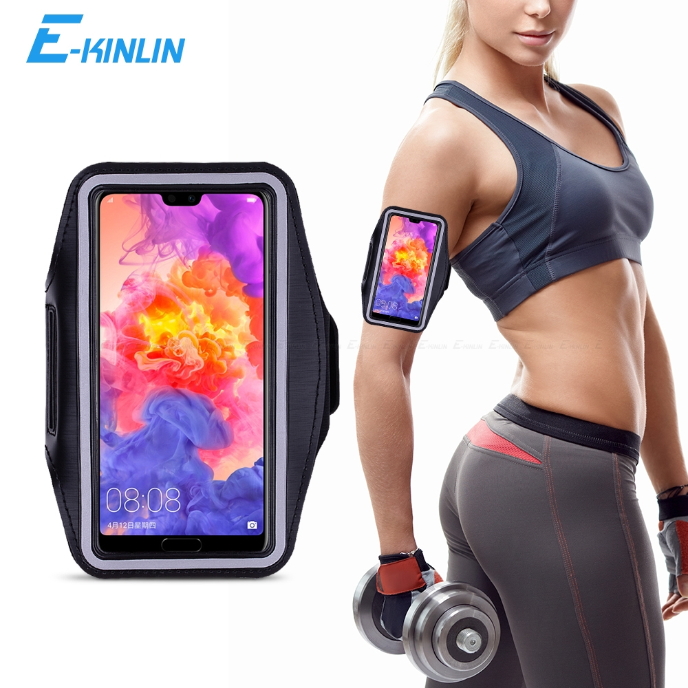 Sport Running Phone Case Arm Band For HuaWei Honor 10i View Mate 30 20 P40 P30 P20 Lite E 5G Pro P Smart Plus Cover(China)
