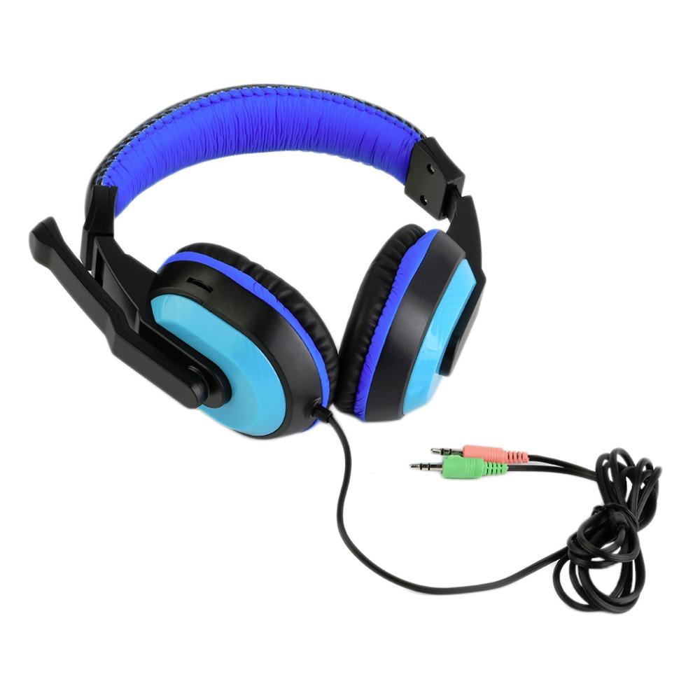 3.5mm Adjustable Game Gaming Headphones Stereo Type Noise-canceling Computer PC Gamers Headset With Microphones Dropshipping