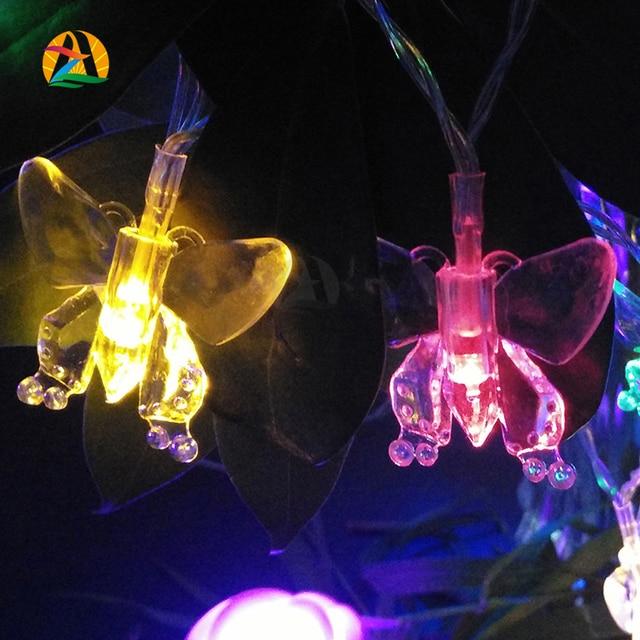 3M 30leds Multicolor Multipendant Party Holiday Wedding Hotels Bars Parks Decoration Lighting Strings Garden String Lights