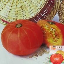 2016 Горячий продавать в Исходном 10 г Семян в Упаковке Красного мяса семена тыквы, зеленые семена овощных культур для дома сад