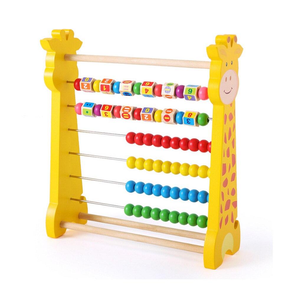 1PC enfants numéro arithmétique Abacus blocs de construction apprentissage éducatif mathématiques jouet calcul Rack jouet pour enfant cadeau - 3