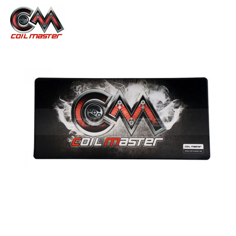 Original Coil master Building Mat for E Cigarette diy Vape Anti Slip Backing Multipurpose Use for PC Pad Coil Master Pad цены