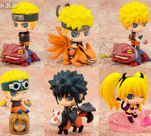 5cm Naruto Action Figure 6Pcs Set