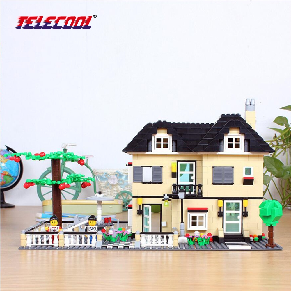 TELECOOL Enlighten Building Block Set 3D Construction Toys Educational Block toy for children Compatible with Lepin 423pcs octonauts undersea explorer compatible building block set 3d construction brick toys educational block toy kit children
