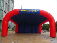 Good Promotion Equipments Inflatable Shelter Tent with 3 sides opening Made in China