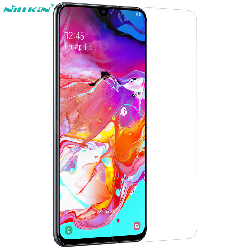 Protective Tempered Glass For Samsung Galaxy A70 NILLKIN Amazing H/H+PRO Ultra thin Screen Protector Glass Film For Samsung A70Protective Tempered Glass For Samsung Galaxy A70 NILLKIN Amazing H/H+PRO Ultra thin Screen Protector Glass Film For Samsung A70