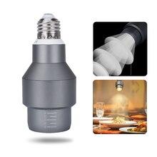 E27 Led Cob Spotlights Lamp Yellow 110V 120V 7W Cob Adjustable Angle For Dining Room Coffee house Hall Led Bulb yellow spotlight