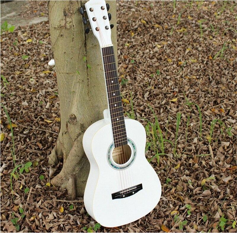Лидер продаж 34 Акустическая Гитары 34 2 белый цвет Гитары ra Музыкальные инструменты гитарные струны