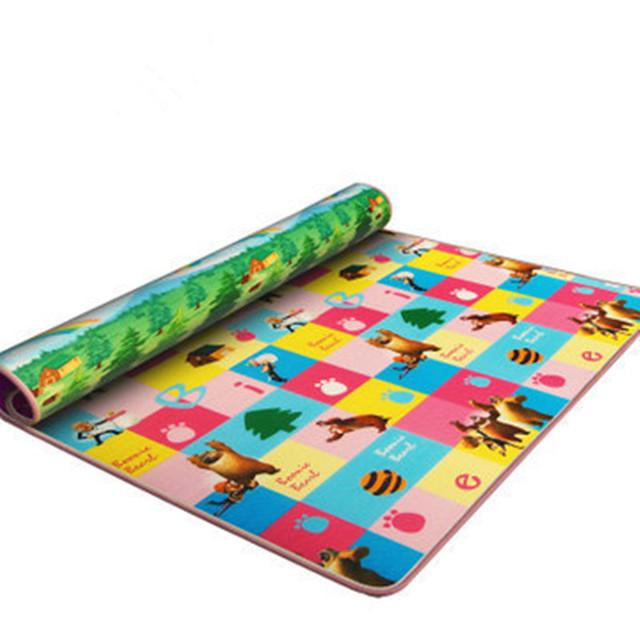 Jogar bebê Tapete para tapete de desenvolvimento intelectual das Crianças da Praia Mat Picnic Tapete Bebê Crawling Mat 180 cm * 150 cm