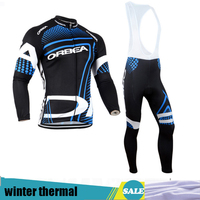 Mtb Winter thermal cycling clothing ropa ciclismo invierno hombre cycling jersey long bicicleta pro team maillot ciclismo H76