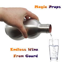 Endless Wine From Gourd Stage Magic Tricks Magic Tricks Magia Toy Accessories Christmas Xmas Gifts Dropshipping Y*